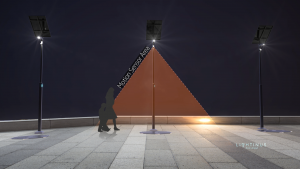 Motion Sensors and Dimming functionalities provide energy optimization for solar street lights