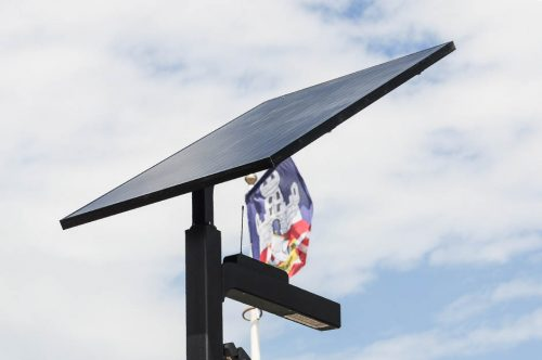 First Smart Solar Street Light in Serbia