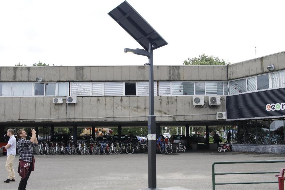 Lightinus Solar Street Light